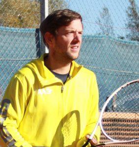 Tennistrainer Alex Bucewicz